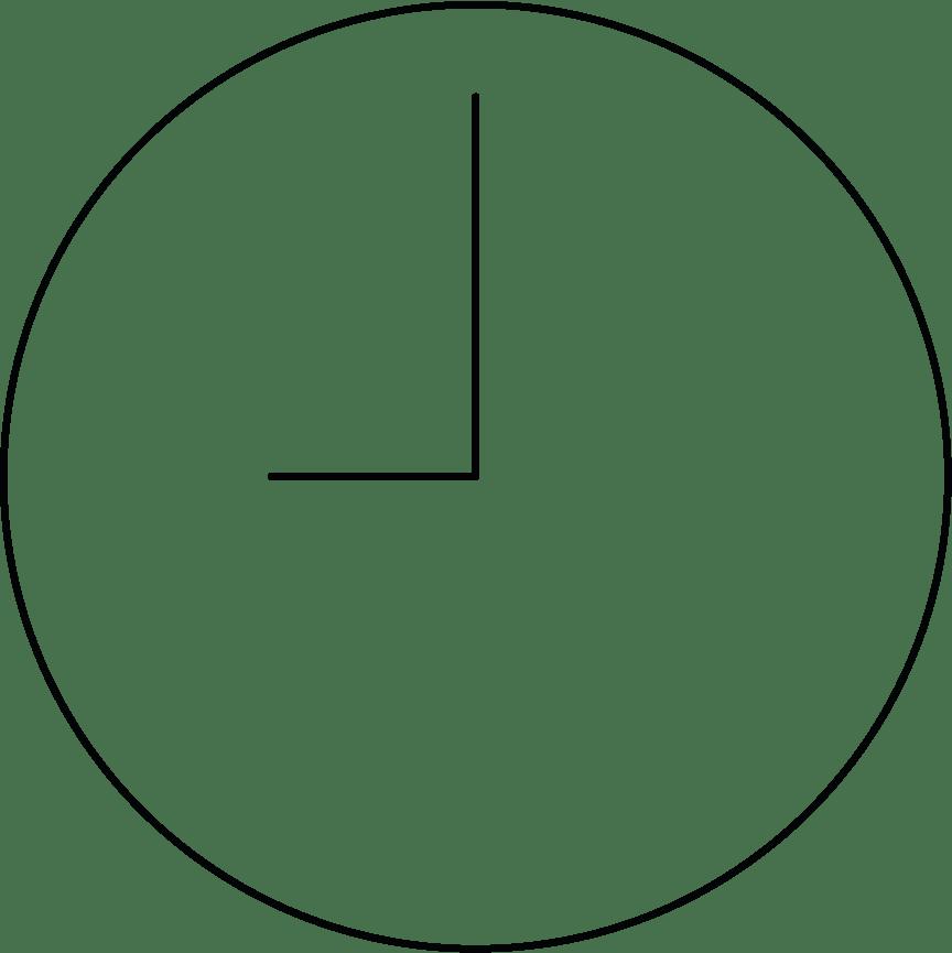 hora de reserva del servicio a domicilio